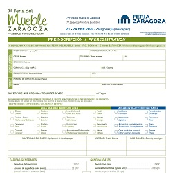 Preregistration Form