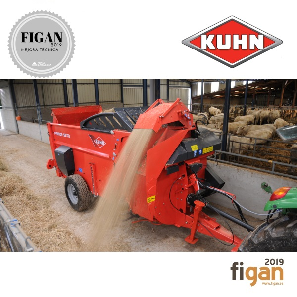 CLEANSTRAW: SYSTEM THAT REDUCES AMBIENT DUST DURING THE STRAW BEDDING PROCESS WITH KUHN PRIMOR MACHINES