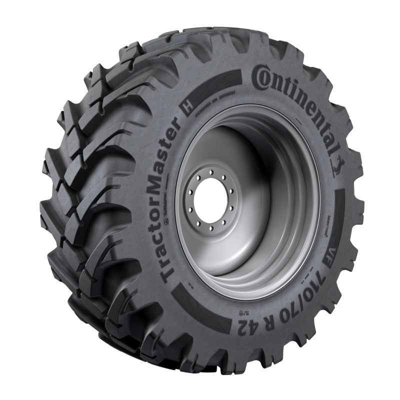 Pressure and temperature sensor in VF TractorMaster Hybrid tyres